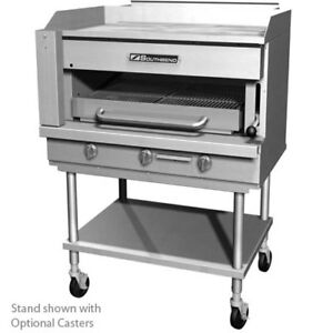 Southbend Ssb 45 Steakhouse Overfire Radiant Broiler With Griddle Top Counterto