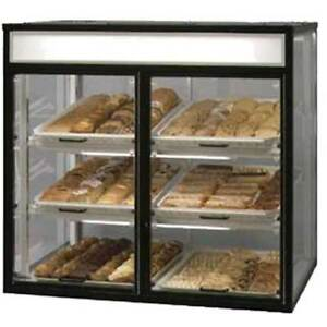 Federal Ct 6 Bakery Display Case Non refrigerated Countertop Self Serve 42 1