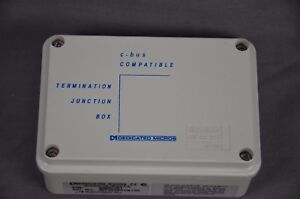 Dedicated Micros Termination Junction Boxes Dm cj01 Lot Of 2