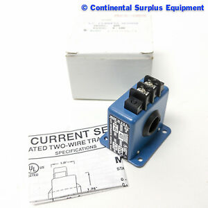 Katy Instrument Ac Current Sensor Model 420 Range 100 In 5 40 Vdc Out 4 20 Ma