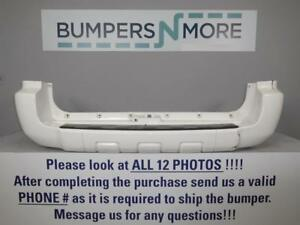 Oem 2006 2009 Toyota 4runner Sr5 Limited Sport W O Tow Hitch Rear Bumper Cover