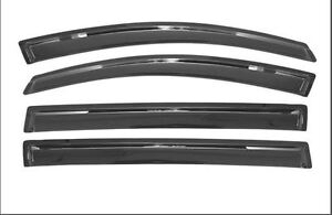 Avs Vent Visor Rain Guard Smoke 4 Piece Set Fits Chevrolet Impala 2000 2005