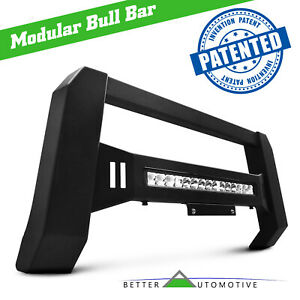 Led Light Modular Bull Bar For 2015 2019 Chevy Colorado gmc Canyon Grille Guard