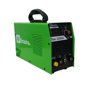 Plasma Cutter 50a Simadre Igbt 520d 110 220v 200a Tig Mma Arc Welder Power Torch