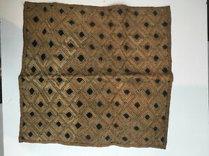 Kuba Cloth 100 Authentic Handmade Size 26 X 24
