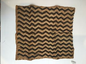 Kuba Cloth 100 Authentic Handmade Size 26 X 26