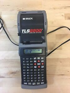Brady Tls 2200 Thermal Labeling System