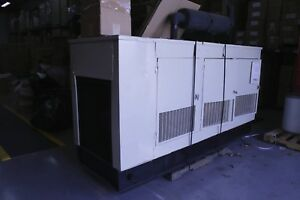75kw 260amp Kholer 85r82 57602a28 Electric Plant Diesel Standby Generator 3ph