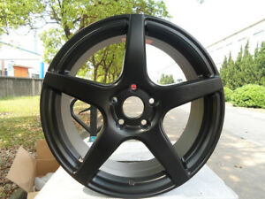 One New 18 Drift Rim Wheel For Honda Accord Civic Cr v Cr z Element Pilot