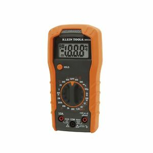 Multi Testers Klein Tools Mm300 Manual ranging 600v Digital Multimeter