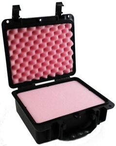 Small Locking Waterproof Case Pink Antistatic Pluck Foam c a r g o Cg 090704