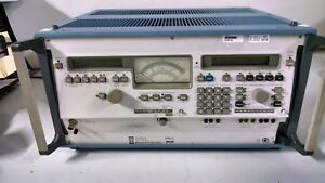 Wandel And Goltermann Spm 16 Selective Level Meter 10khz 160 Mghz Used