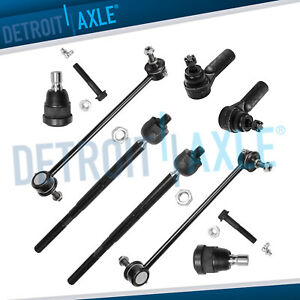 New 8 piece Complete Front Suspension Kit 2005 2009 Ford Escape