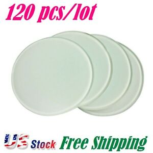 Us Stock Diameter 3 9 Round Sublimation Blank Glass Coaster 120pcs