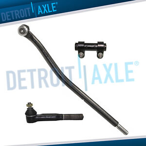 New 3pc Front Inner Tie Rod Drag Link Kit For Ford F 250 Super Duty 4x4 Only