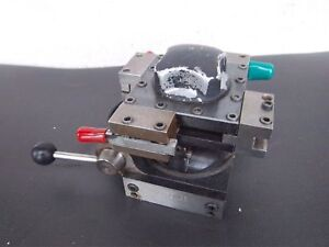 Used Hardinge L6 b 4 Position Indexing Tool Post W 4 Holders