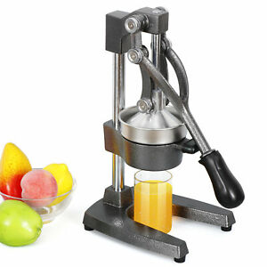 Heavy Duty Commercial Bar Citrus Press Orange Lemon Fruit Manual Squeezer Juicer
