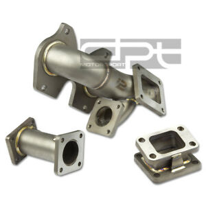 J2 Engineering 86 91 Rx7 fc T 304 Stainless 5mm Thickness T4 t04 Turbo Manifold