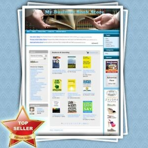 Business Book Store Fully Automated Home Based Business free Domain