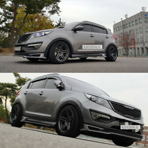 Aeropeak Front Lip For Kia Sportage R 11 15