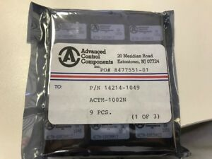 1x Acc Actm 1002n Tunnel Diode Detector Modules 2ghz 4ghz Rf microwave Linear