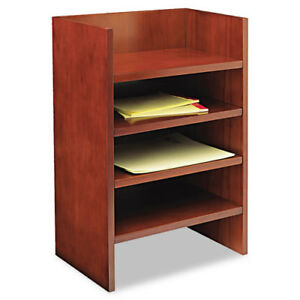 Mira Series Wood Veneer Hutch Letter Tray 17w X 10d X 22h Med Chry