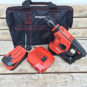 2016 hilti Te 30 A36 Kit 36v Li ion Rotary Hammer Drill Sds plus Lithium Battery