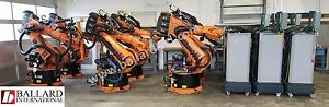 6 Kuka Kr150 Robot Systems Pricing Includes Shipping Worldwide