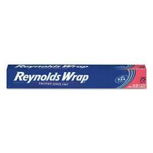 Reynolds Wrap Standard Aluminum Foil Roll 12 X 75 Ft Silver 35 Packs carton