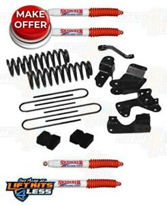 Skyjacker For 134r2k h 4 Lift Kit W hydro Shocks For 83 97 Ford Ranger 2wd Gas