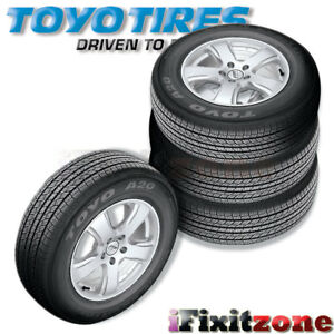 4 Toyo Open Country A20 245 55r19 103t Radial All Terrain Tires