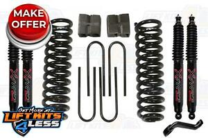 Skyjacker 6 Lift Kit W black Max Shocks For 66 75 Ford F 100 77 79 Ford F 150