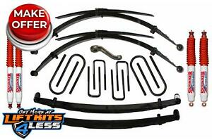 Skyjacker F760ks n 6 Lift Kit W nitro Shocks For 77 1979 Ford F 250