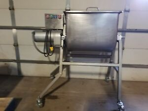 Leland 100 Da Dual Action Stainless Steel Food Mixer Blender Meat Sausage Salads