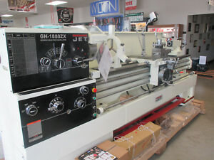 New Jet Gh1880zx 3 1 8 Large Spindle Lathe W dro taper Attachment collet Closer