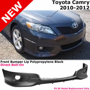 Toyota Camry 10 12 Front Bumper Lower Lip Spoiler Valance Se Style Replacement