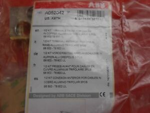 Abb K6th 1 2 Terminal Kit 1sda052042 Factory Sealed Packaging