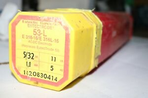 Eutectic 53l 5 32 Stainless Welding Rod