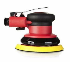 Sgcb Lightweight Air Pneumatic Palm Polisher Professional Waxer Hook And Loop
