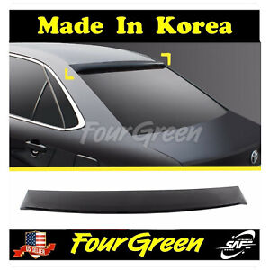 Black Rear Roof Window Spoiler For 2015 2018 Toyota Camry