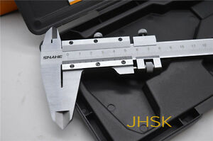 Shanhe High Quality Industrial Grade 0 300mm 12 Inch Vernier Caliper Cnc