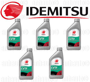 Set 5 Idemitsu Cvt Continuously Variable Transmission Fluid For Nissan Suzuki