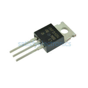 2 5 10 20pcs Irf510npbf Irf510n Irf510 Power Mosfet N channel 100v 5 6a