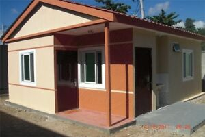 Prefab Modular Home Ready To Live In One Month Parts Marked For Easy fast Instal