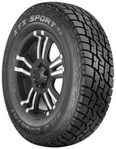 Multi Mile Wild Country Xtx Sport 245 75r16 111t Owl X4s79 Set Of 2