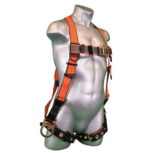 Warthog 5 point Adjustable Full Body Universal Safety Harness With Side D rings