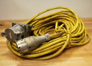 Pyle National Jpd 86046 pr Connector With Super trex 4 Conductor 130 Foot