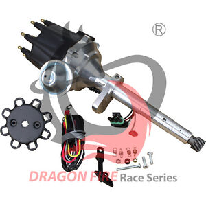 New Dragonfire Hei Ignition Distributor For 1949 1953 Ford Flat Head 225 239 255