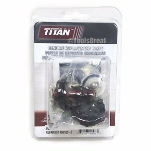 Titan Spraytech Pump Packing 0551533 Repair Kit Titan Repacking Kit For Epx2155