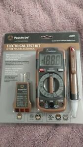 Southwire Digital Multimeter Electrical Meter Test Kit 3 Pack new 10035k a